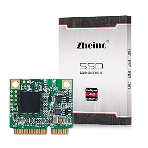 Zheino Half Size Msata Solid State Drive 64GB SSD für Laptop Tablet Mini Pc (Solids 90 Tabs)
