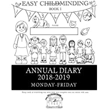 Annual Diary: Easy Childminding Book 1