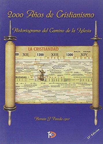 2000 años de cristianismo. Historiograma del camino de la Iglesia por Hernan Pereda