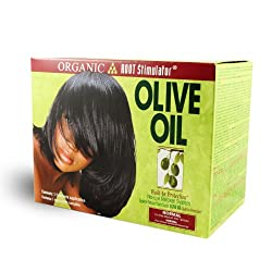 Organic Root Stimulator Olive Oil Strength No Lye Relaxer