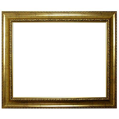 Baroque frame oro finemente decorato 839 ORO, cornice vuota 50x70 cm