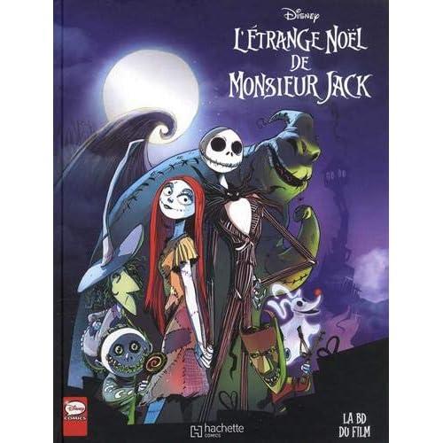 L'étrange Noël de Monsieur Jack : La BD du film