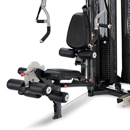 51 lN%2BZhx0L. SS500  - Inspire Fitness M5 Multi Gym - Fitness, Workout, Strengthen Muscle, Gym, Home, Aluminium, Revolving Lat Bar, L Shape Design, Commercial Use, Isolation Movements, Heavy Duty Tubular Steel Frame, Maintenance Free, Abdominal Bar