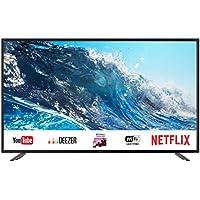 """Sharp LC-49UI7252E - UHD Smart TV de 49"""" (resolución 3840 x 2160, HDR, 3X HDMI, 2X USB, 1x USB 3.0) Color Negro"""
