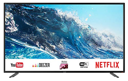 Sharp 42 (SHARP LC-43UI7252E 109 cm (43 Zoll) Fernseher (4K Ultra HD Smart LED TV, Harman/Kardon Soundsystem, Triple Tuner))