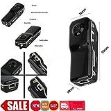 ETbotu Mini Fotocamera,MD80 Mini DV DVR 720P HD Telecamera Spia Nascosta VOX Videoregistratore Digitale Webcam