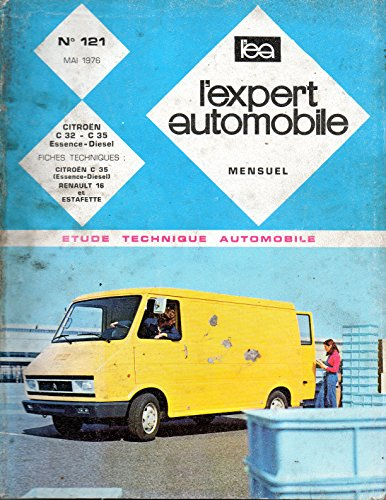 REVUE TECHNIQUE L'EXPERT AUTOMOBILE N° 121 CITROEN C 32 / C 35