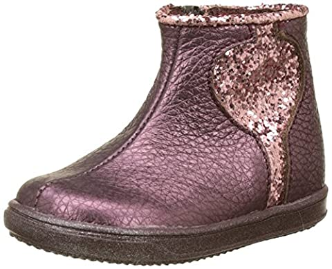 Little Mary Charlotte, Desert Boots Fille, Rouge (Sweet Grappe), 26 EU