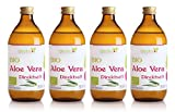 Vitavitee Bio Aloe Vera Direktsaft durchschnittlich 1200 mg/l Aloeverose (4 x 500 ml)