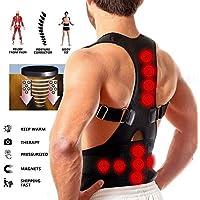 Körperhaltung Korrektor Unterstützung Magnetische Rücken Schulterstütze Gürtel 12 Magnete Unisex (XL) preisvergleich bei billige-tabletten.eu
