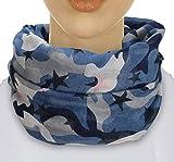 XXL TOP TREND Damen Schal leichter Schlauchschal Viele Farben