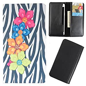 DooDa - For Samsung Galaxy On7 PU Leather Designer Fashionable Fancy Case Cover Pouch With Card & Cash Slots & Smooth Inner Velvet