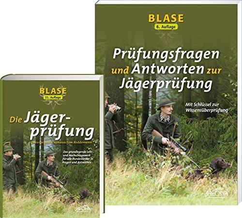 BLASE - Die Jägerprüfung 32. Aufl. + BLASE - Prüfungsfragen und Antworten zur Jägerprüfung: im Set