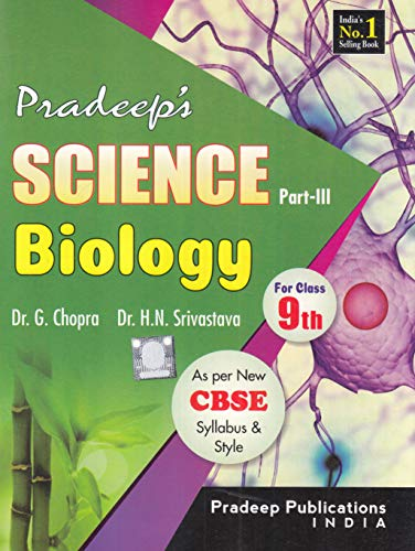 Pardeep's Science Biology Part-3 for Class 9th (2019-2020 Examination)