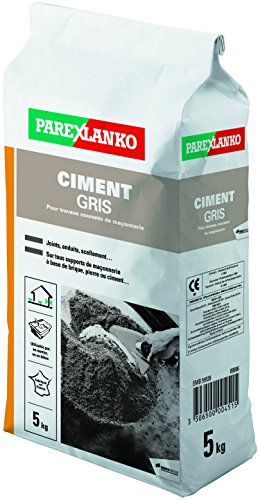 ParexGroup 2837 Zement 5 kg, grau