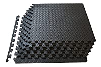 The Kobo mat is for Home Use and not for Commercial Gyms. The material of mat is EVA. The net weight of this mat set is 1.9 Kg. Convert any area into a safe and convenient workout area with the Kobo exercise puzzle mat. The interlocking pieces are qu...