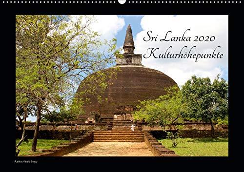 Sri Lanka 2020 Kulturhöhepunkte (Wandkalender 2020 DIN A2 quer): Sri Lankas kulturelle Highlights in hochauflösenden Bildern. (Monatskalender, 14 Seiten ) (CALVENDO Orte)