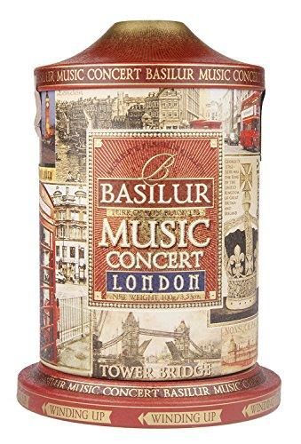 """Basilur Schwarztee """"Konzert London"""" 100 g Musikdose"""
