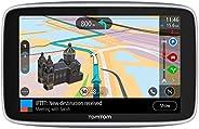 TomTom GO Premium Pkw-Navi (6 Zoll mit Updates über Wi-Fi, Lebenslang Traffic via SIM-Karte, Weltkarten, Last Mile Navigatio