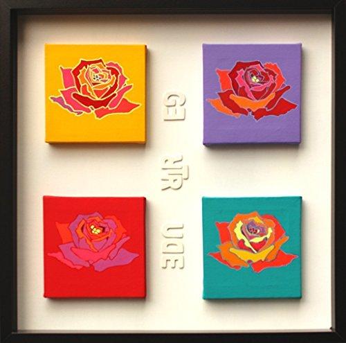 rose-dipinte-su-tela-quadro-colori-pop-gertrude-stein-opera-unica-con-cornice-quadro-pronto-da-appen