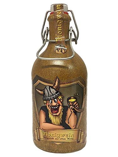 Preisvergleich Produktbild Honigmet / Honigwein in Tonflasche mit Bügelverschluß