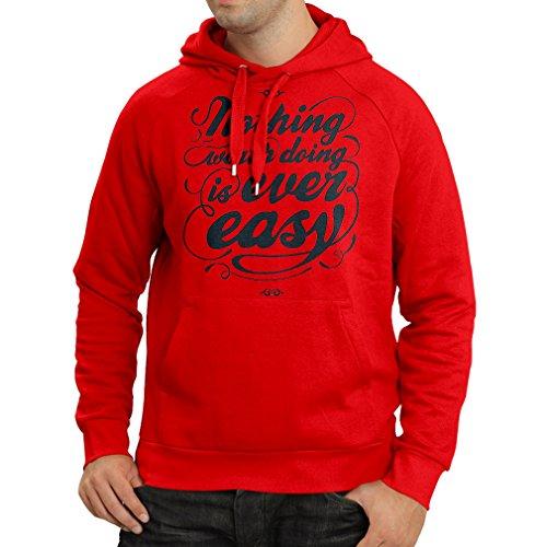 lepni.me Kapuzenpullover Motivationszitate für das Leben - Vintage Inspirational Lustige Sprüche (Large Rot Mehrfarben) (Jones New Damen-strickjacke York)