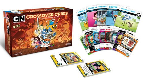Cryptozoic Entertainment Cartoon Network cruzado crisis deck-building