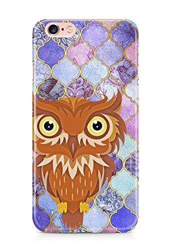 Colorful unique new owl 3D cover case design for iPhone 7Plus 5