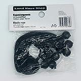 Land-Haus-Shop Ersatz Spanngummis 10 Stück 18,5 cm Spann Gummi Halterung für Pavillion und Zelt (schwarz) -