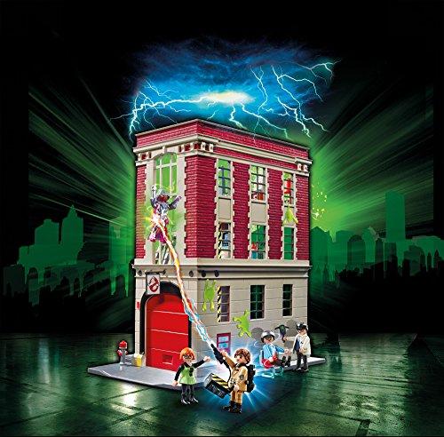 Playmobil   Cuartel parque de bomberos Ghostbusters (9219)