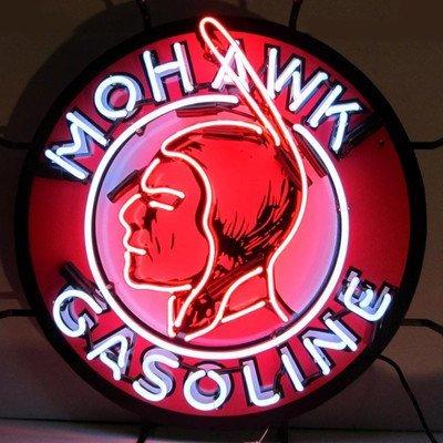 Neonetics 5GSMOH Mohawk Gasoline Neon Sign by Neonetics