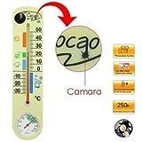 agente007–Caméra Espion DVR Cachée en Thermometre fonctionnelle 480p détecter les de mouvement