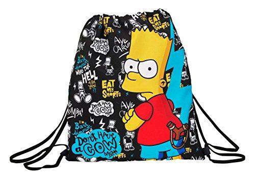 Safta Los Simpsons 611605196 Bolsa escolar Safta