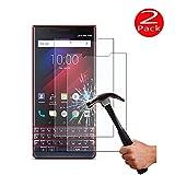 ViViKaya 2 Pezzi Pellicola Protettiva per Blackberry Key2 Le, 9H Durezza AntiGraffio Trasparente Vetro Temperato Anti Impronte Senza Bolle Protezione Schermo
