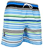 GUGGEN MOUNTAIN Herren Badeshorts Beachshorts Boardshorts Badehose gestreift *High Quality