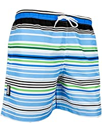 GUGGEN MOUNTAIN Maillot de bain pour homme de materiau high-tech slip shorts Striped *High Quality Print*