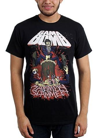 Gama Bomb - - T-shirt Marteau Slammer hommes, Small, Black