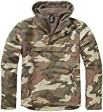 Brandit Herren Jacke Windbreaker, Mehrfarbig (Light Woodland 107), Medium