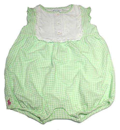 Polo_Ralph Lauren Baby Mädchen (0-24 Monate) Spieler Gr. 6 Monate, grün