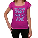 Photo de One in the City Femme Tee Vintage T Shirt My Favorite People Call Me Adie par One in the City