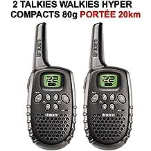 PORTEE hasta a 20Km. 2Walkie Talkies Walkies Uniden 1635Hyper compactas. Raid Preparation 4x 4Faucet Donaldson Topspin Snorkel