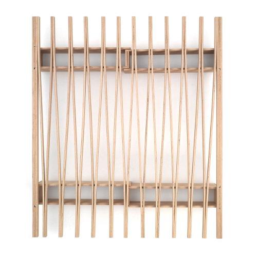 Tojo v Bett Vario 90-180cm Ziehharmonika Bio Bett Gaestebett System Roy Schaefer -
