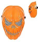 Halloween Maske Kürbis für Erwachsene Universalgröße Unisex Halloween Kürbismaske Halloweenmaske Kunststoffmaske Kostümzubehör Halloweenzubehör Verkleidung Themenabend