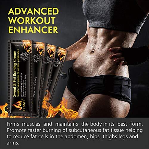 Bauch-Creme, Männer Frauen Bauchmuskel-Creme, Anti Cellulite Abnehmen Fat Burning Cream, Straffung Erhöht Muskelkraft & Fettverbrennung von DAKERTA