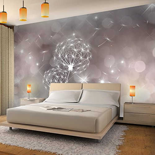 Fototapete Pusteblumen 352 x 250 cm Vlies Wand Tapete Wohnzimmer  Schlafzimmer Büro Flur Dekoration Wandbilder XXL Moderne Wanddeko Flower  100% MADE IN ...