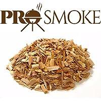 Pro Smoke - Virutas de madera de aliso, haya y cerezo mezcla premium para BBQ, 6 litros