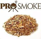 Mélange de copeaux de bois premium provenant de chêne, cerise et noisette pour barbecue , 6 l