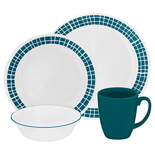 corelle-vitrelle-glass-tiles-chip-and-break-resistant-dinner-set-set-of-16-blue