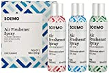 Amazon Brand - Solimo Premium Air Freshener Spray, 180ml (Set of 3)