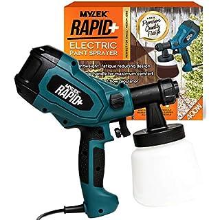 MYLEK® Rapid+ 400W Electric Paint Sprayer Gun Kit